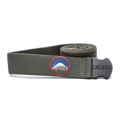 Arcade Belts The Rambler Belt, Olive Green, viewer