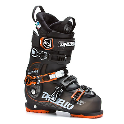Dalbello Panterra 100 Ski Boots 2017, Black Transparent-Black-Orange, viewer