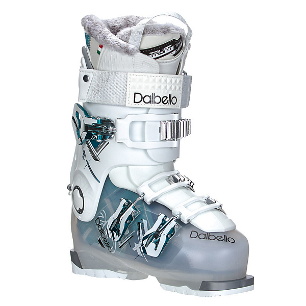 Dalbello Luna 80 Womens Ski Boots, Transparent-White, 600