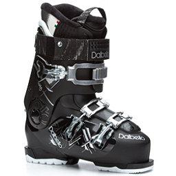 Dalbello Luna 70 Womens Ski Boots, Black-Black, 256