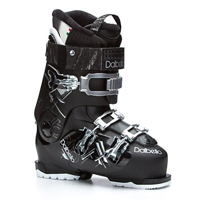 Dalbello Luna 70 Womens Ski Boots 2017, Black-Black, viewer