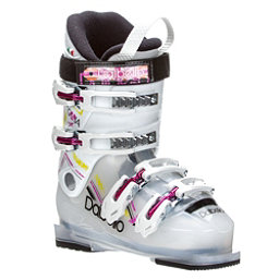 Dalbello Gaia 4 Girls Ski Boots 2017, Transparent-White, 256