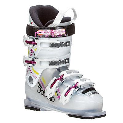 Dalbello Gaia 4 Girls Ski Boots 2017, Transparent-White, viewer