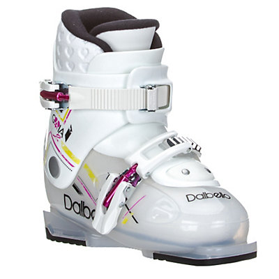 Dalbello Gaia 2 Girls Ski Boots 2017, Transparent-White, viewer
