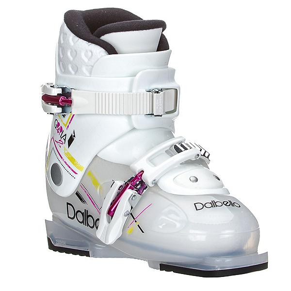 Dalbello Gaia 2 Girls Ski Boots 2017, Transparent-White, 600