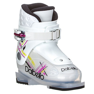Dalbello Gaia 1 Girls Ski Boots 2017, Transparent-White, viewer