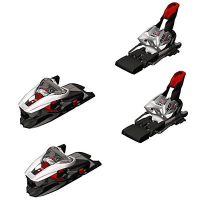 Marker XCell 16.0 Ski Bindings 2017, White-Black-Red, viewer