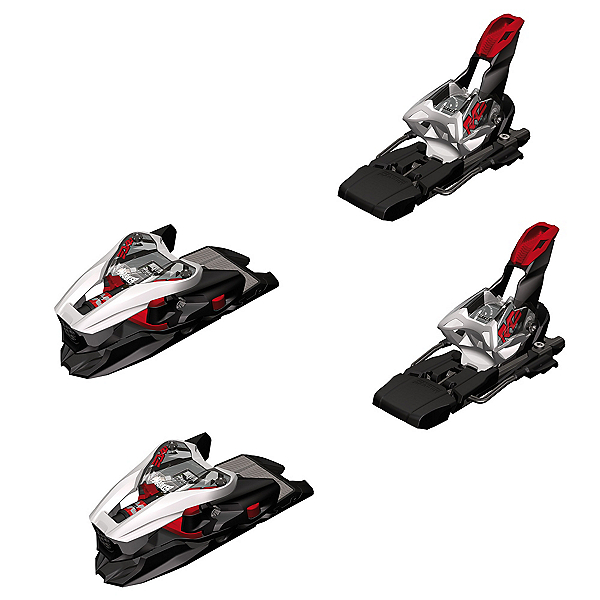 Marker XCell 12.0 Ski Bindings 2018, White-Black-Red, 600