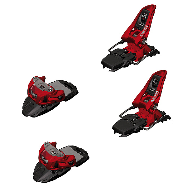 Marker Squire 11 Ski Bindings 2017, Red, 600