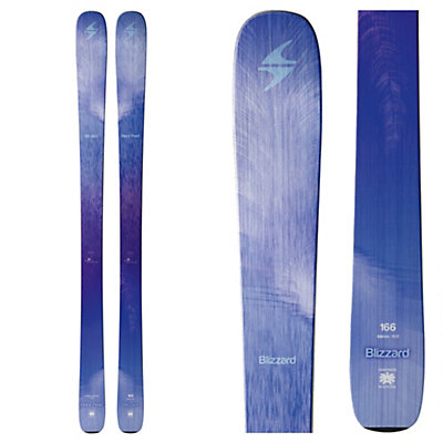 Blizzard Black Pearl Womens Skis 2017, , viewer