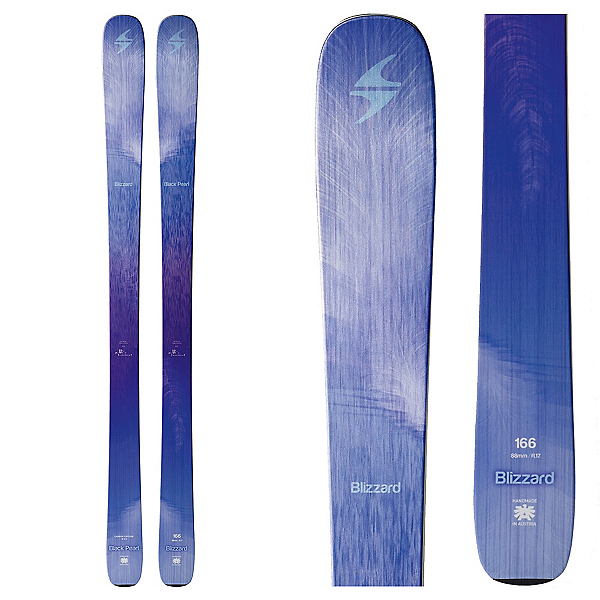 Blizzard Black Pearl Womens Skis 2017, , 600