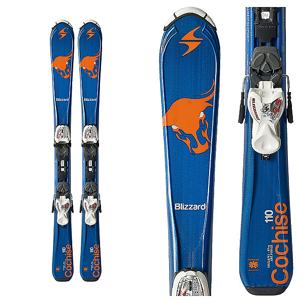 Blizzard Cochise Jr. Kids Skis with IQ 4.5 Bindings, , 600