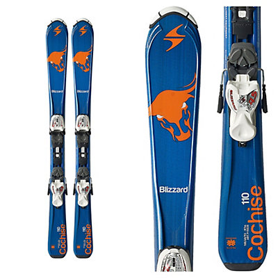 Blizzard Cochise Jr. Kids Skis with IQ 7.0 Bindings 2017, , viewer