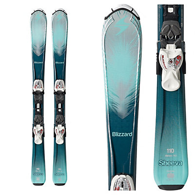 Blizzard Sheeva Jr. Kids Skis with IQ 7.0 Bindings 2017, , viewer