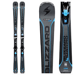 Blizzard Quattro 8.0 CA Skis with TCX 12 Bindings 2018, , 256