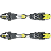 Fischer RC4 Z17 FreeFlex Ski Bindings 2017, Solid Black-Yellow, medium