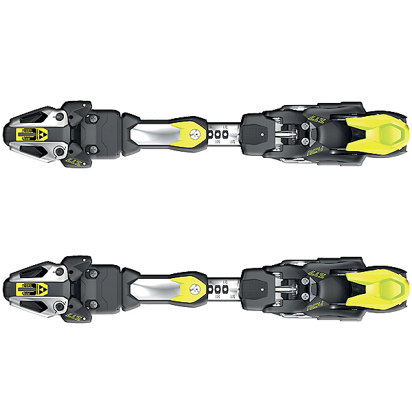 Fischer RC4 Z17 FreeFlex Ski Bindings 2018, Solid Black-Yellow, 600