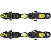 Fischer RC4 Z11 FreeFlex Ski Bindings 2017, Solid Black-Yellow, medium