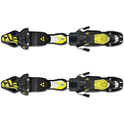 Fischer RC4 Z11 FreeFlex Ski Bindings 2018, Solid Black-Yellow, 256