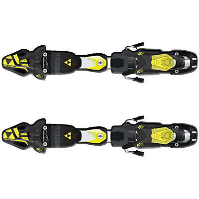 Fischer RC4 Z11 FreeFlex Ski Bindings 2017, Solid Black-Yellow, viewer
