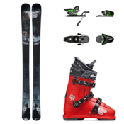 Icelantic Pilgrim, Salomon Z12, and Nordica Ace 2 Stars Ski Package, , medium