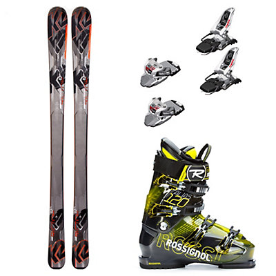 K2 AMP Rictor 82XTi, Marker Squire, and Rossignol Alias Sensor 120 Ski Package, , viewer