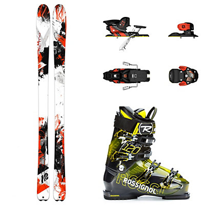 K2 AMP Rictor 90, Salomon Warden, and Rossignol Alias Sensor 120 Ski Package, , viewer