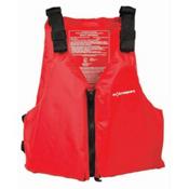 Extrasport Fleet Universal Life Jacket - PFD 2016, Red, medium