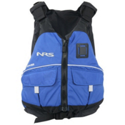 NRS Vista PFD Adult Kayak Life Jacket, Blue, medium