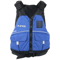 NRS Vista PFD Adult Kayak Life Jacket 2017, Blue, 256