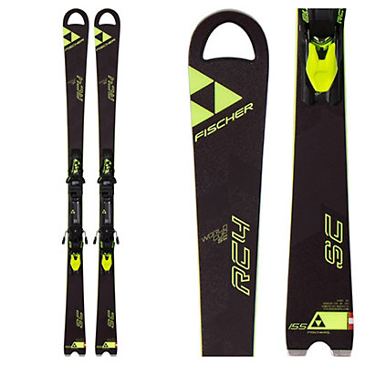 Fischer RC4 World Cup SC Race Skis with Z12 Powerrail Bindings 2017, , viewer