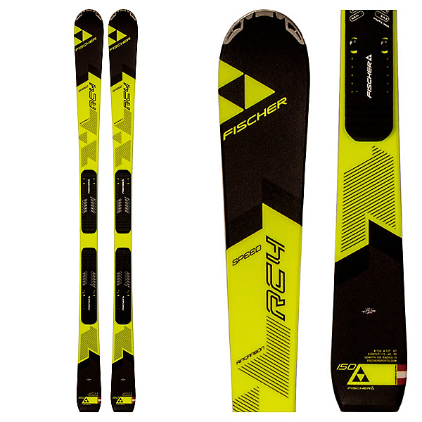 Fischer RC4 Speed Jr. Junior Race Skis 2017, , 600