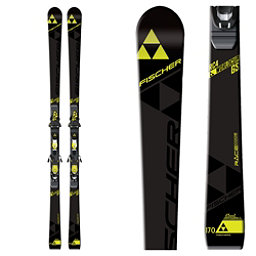 Fischer RC4 World Cup GS Jr. Curv Booster Junior Race Skis 2017, , 256
