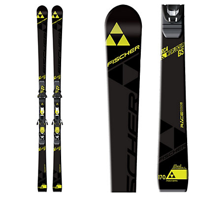 Fischer RC4 World Cup GS Jr. Curv Booster Junior Race Skis 2017, , viewer