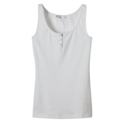 Prana Jane Womens Tank Top, White, medium
