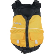 NRS Vista Youth Life Jacket - PFD 2016, Yellow, medium