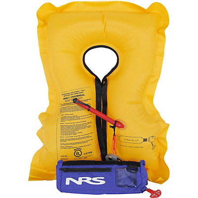 NRS Big Kahuna Inflatable PFD Belt 2016, Blue, viewer