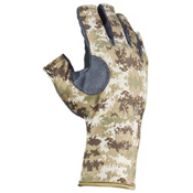 Buff Pro-Series Angler III Paddling Gloves, Pixel Desert, medium