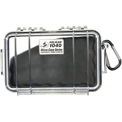 Pelican Case 1040 Micro Case 2017, Black-Clear, viewer