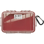 Pelican Case 1040 Micro Case 2017, Red-Clear, medium