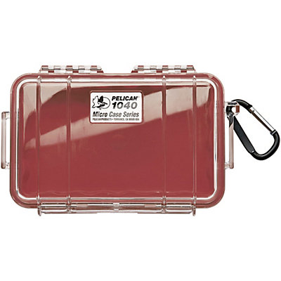Pelican Case 1040 Micro Case, Black-Clear, viewer
