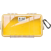 Pelican Case 1060 Micro Case 2017, Yellow-Clear, medium