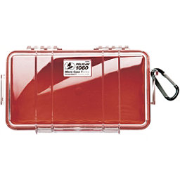 Pelican Case 1060 Micro Case 2017, Red-Clear, 256