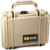 Pelican Case Small 1120 Dry Box, Tan, medium