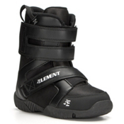 5th Element ST Mini Kids Snowboard Boots, Black, medium
