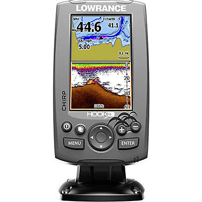 Lowrance Hook 4 Fish Finder, , viewer