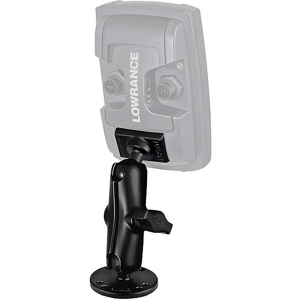 RAM Mounts Mount for Lowrance Elite-4 and Mark-4 Fish Finders, Light Use, 600