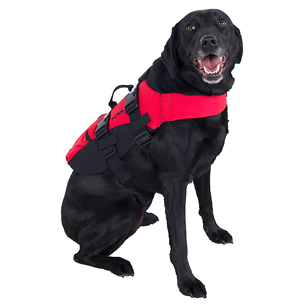 NRS CFD Dog Life Jacket, Red, 600