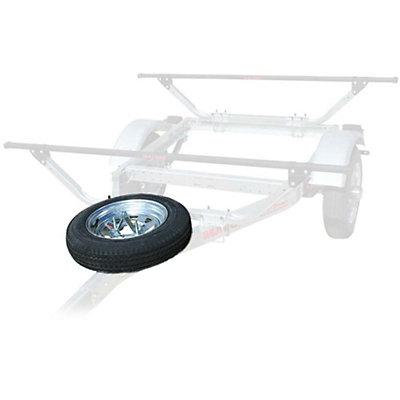 Malone MicroSport Trailer Spare Tire with Mount, , viewer