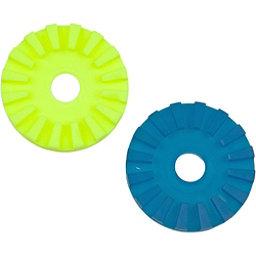 Scotty Slip Discs - Pair, Yellow-Turq, 256
